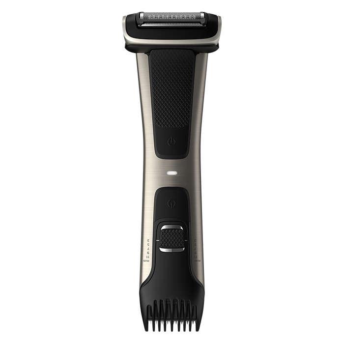 Full-body trim & shave