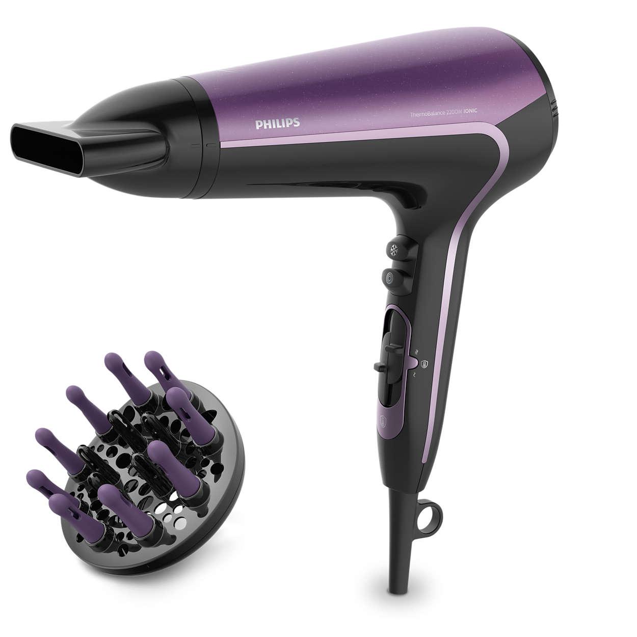 Protection active anti-surchauffe: cheveux 22% plus brillants*.