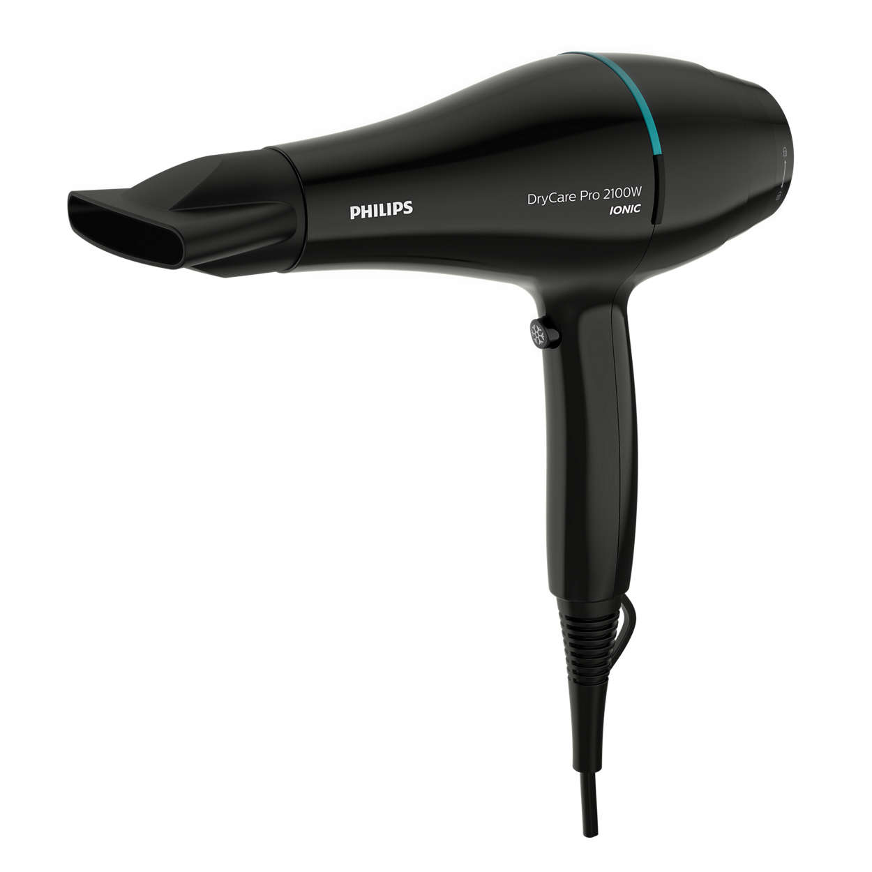 Fast and powerful drying for professional results