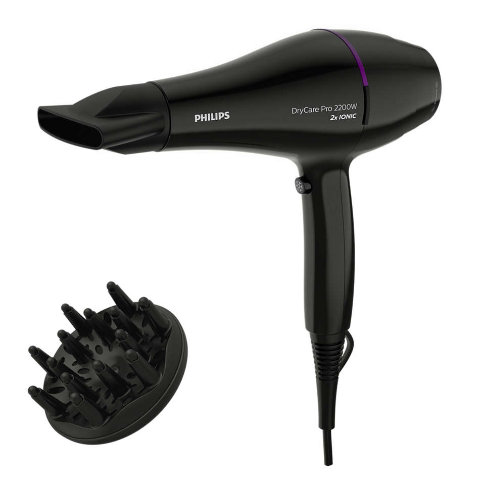 Быстрая и эффективная профессиональная сушка волос