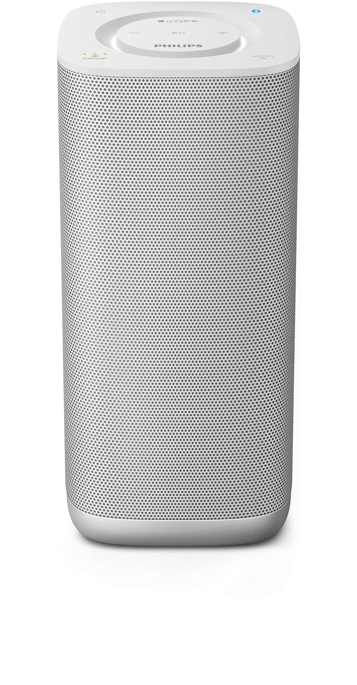 Un solo tocco per riprodurre la musica in ogni stanza