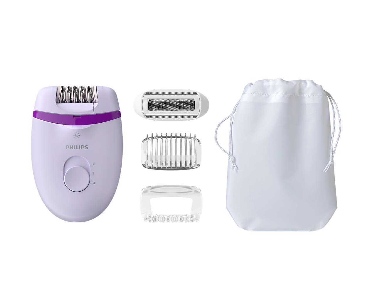 הסרת שיער בקלות
