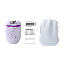 Satinelle Essential Epilator compact cu fir