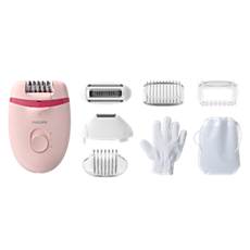 BRE285/00 -   Satinelle Essential Corded compact epilator