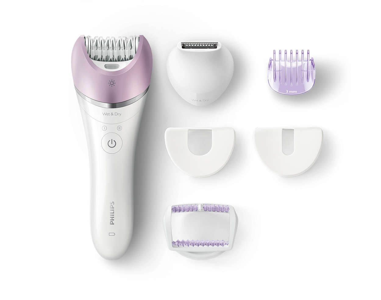 Our fastest epilation even on the finest of hairs