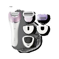 BRE635/00 Satinelle Advanced آلة لإزالة الشعر قابلة للاستخدام الجاف والمبلل