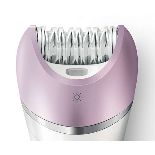 Satinelle Advanced Cordless Epilator, Use Wet & Dry