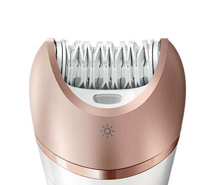 عملية إزالة الشعر الأسرع التي نقدّمها، حتى على أرفع الشعيرات
