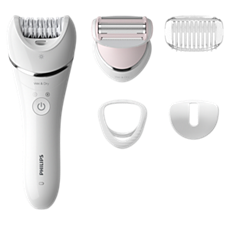 BRE710/00 Epilator Series 8000 Wet & Dry epilator