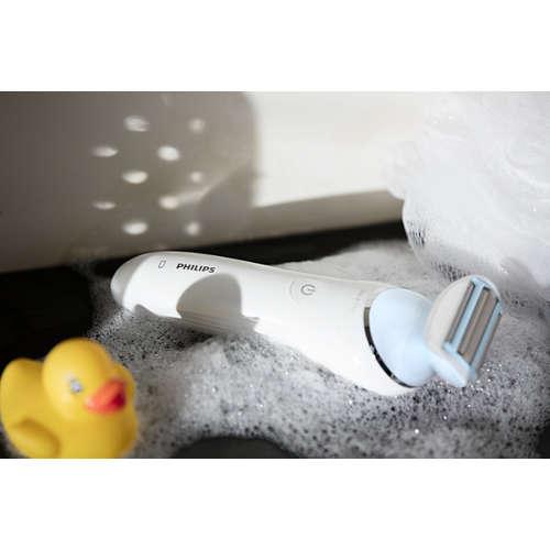 SatinShave Advanced Afeitadora eléctrica en seco y húmedo