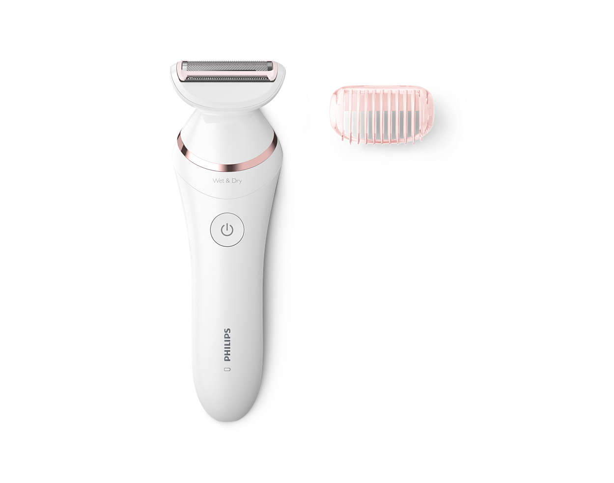 A smooth skin friendly shaver