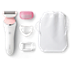 SatinShave Advanced Glatt hud raskt hver dag, med 3 tilbehør