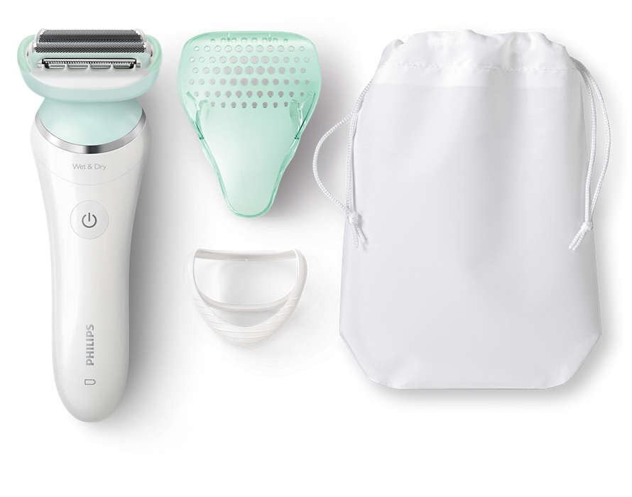 Tæt barbering med mindre hudirritation