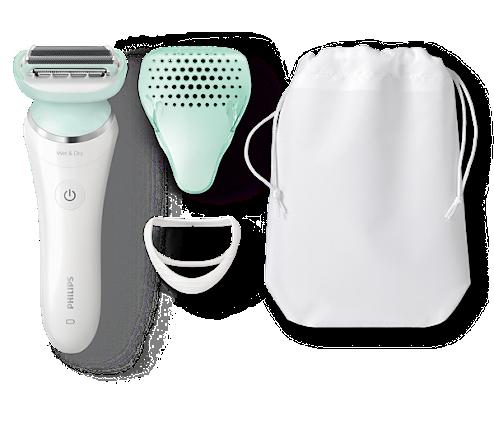 SatinShave Prestige Afeitadora eléctrica en seco y húmedo BRL160 00 ... 06227c398c84