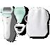SatinShave Prestige Snabbt len hud varje dag, 2 tillbehör ingår