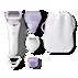 SatinShave Prestige Rasoir électrique pour peau sèche ou humide