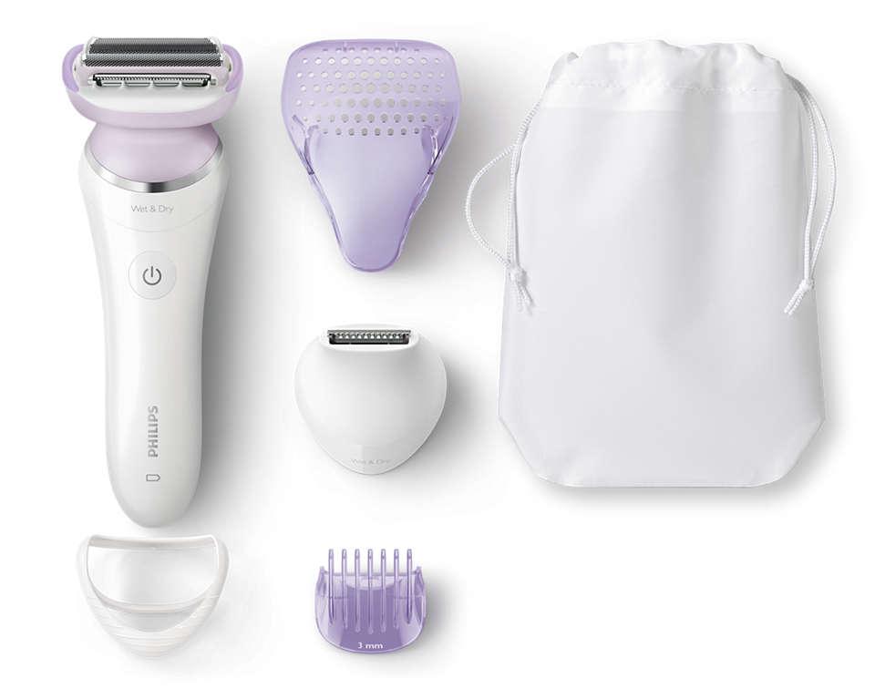 Tett barbering med mindre hudirritasjon
