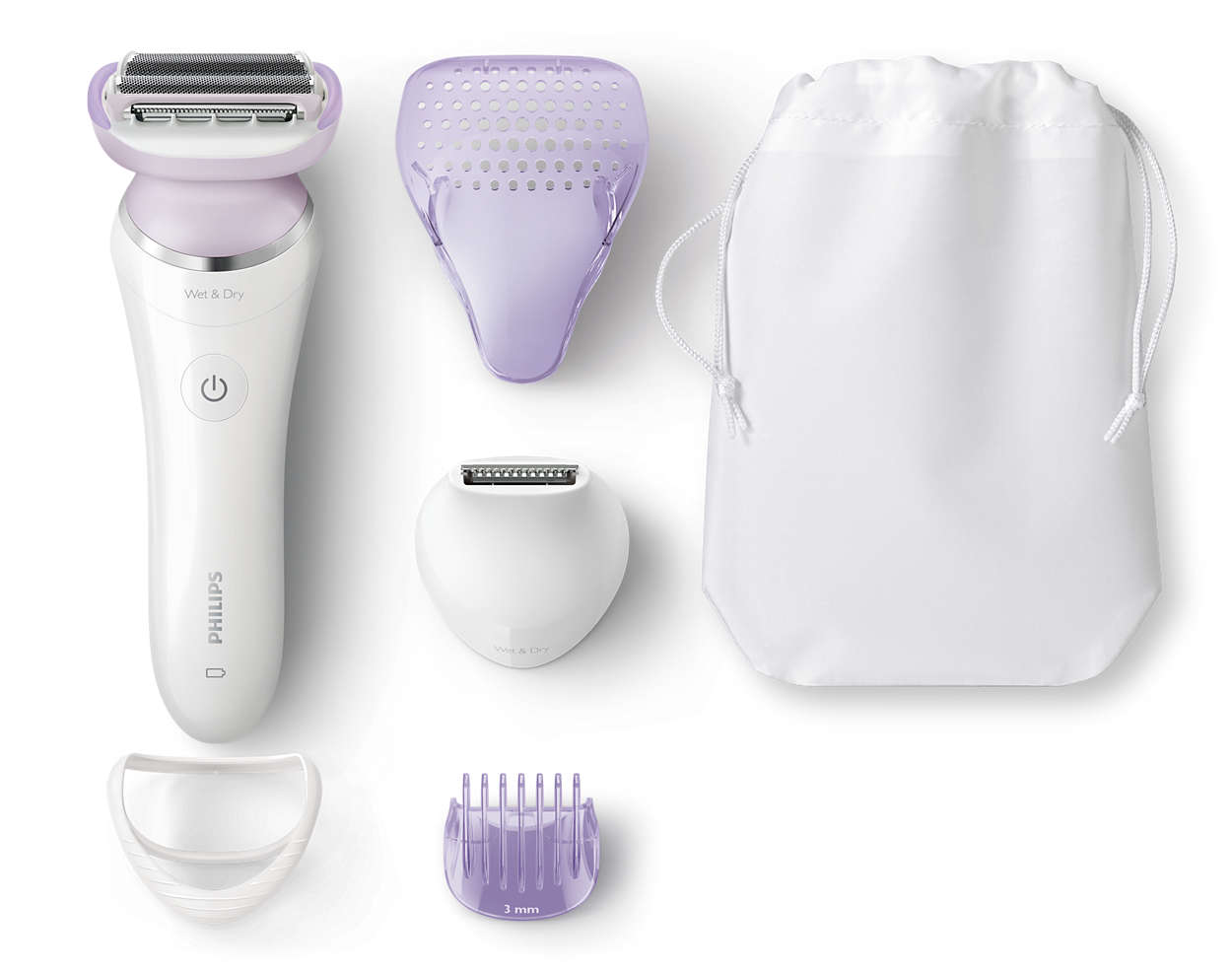 我們最先進的剃毛系統
