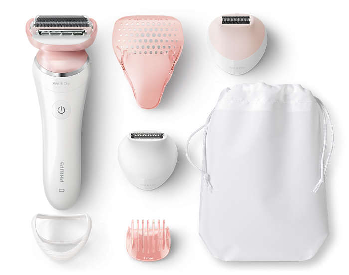Uma depilação rente e perfeita