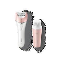 BRP545/00 Satinelle Advanced Epilierer, nass und trocken