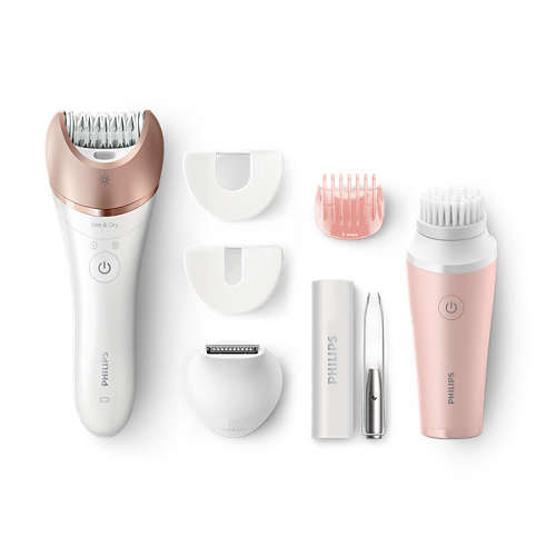 Satinelle Prestige Wet & Dry-epilator, -trimmer en -reiniger
