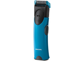 Philips Beardtrimmer series 1000 Beard trimmer BT1000 15 Pro Skin Trimmmer 4 built-in length settings AA battery operated Up to 2 months of usage