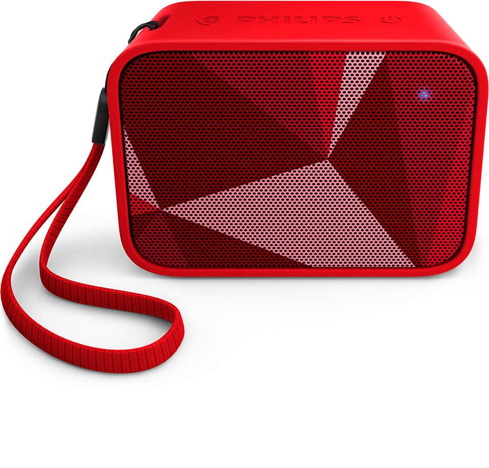 Kompaktes Design, kräftiger Bass