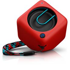 BT1300R/00  Tragbarer, kabelloser Lautsprecher