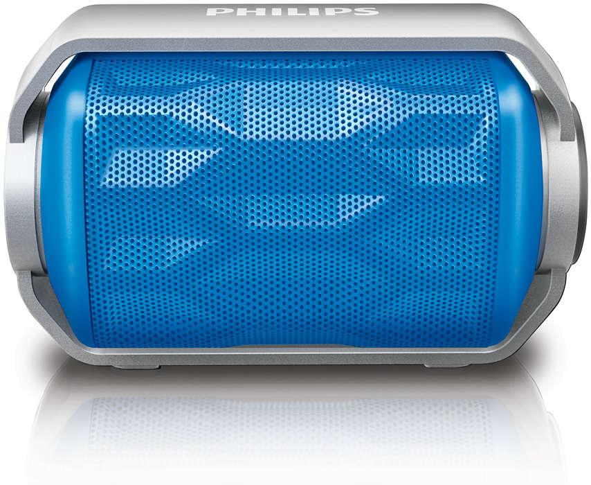 Uma caixa acústica tão aventureira quanto você