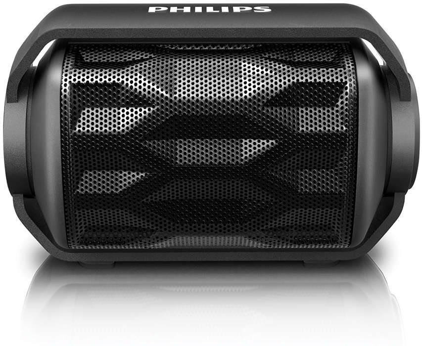 A speaker that is as adventurous as you
