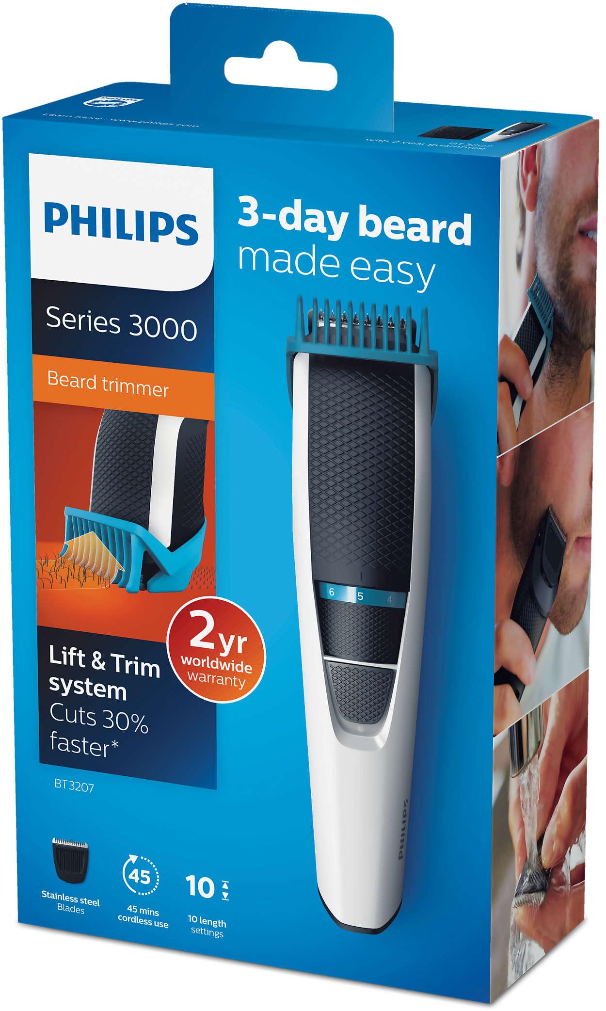 Beardtrimmer series 3000 Strihač brady BT3207 14  d3223886877