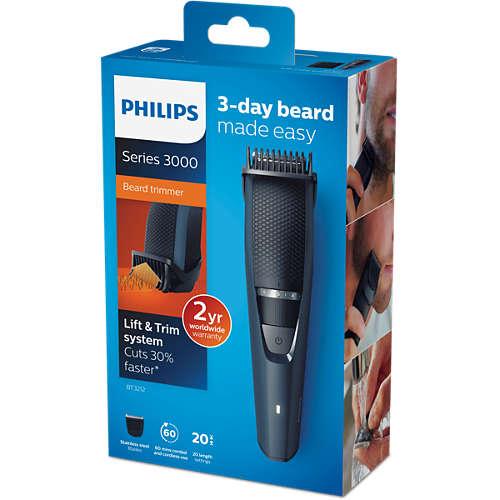 Beardtrimmer series 3000 Tondeuse à barbe
