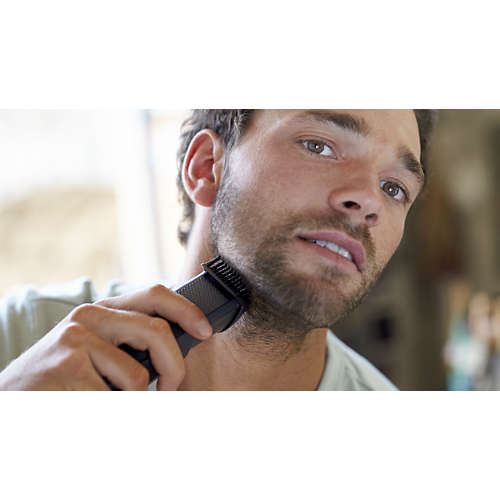 Beardtrimmer series 3000 Beard & stubble trimmer with full metal blades