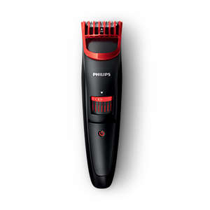 Beardtrimmer series 1000 En behagelig trimmer, der giver perfekte skægstubbe
