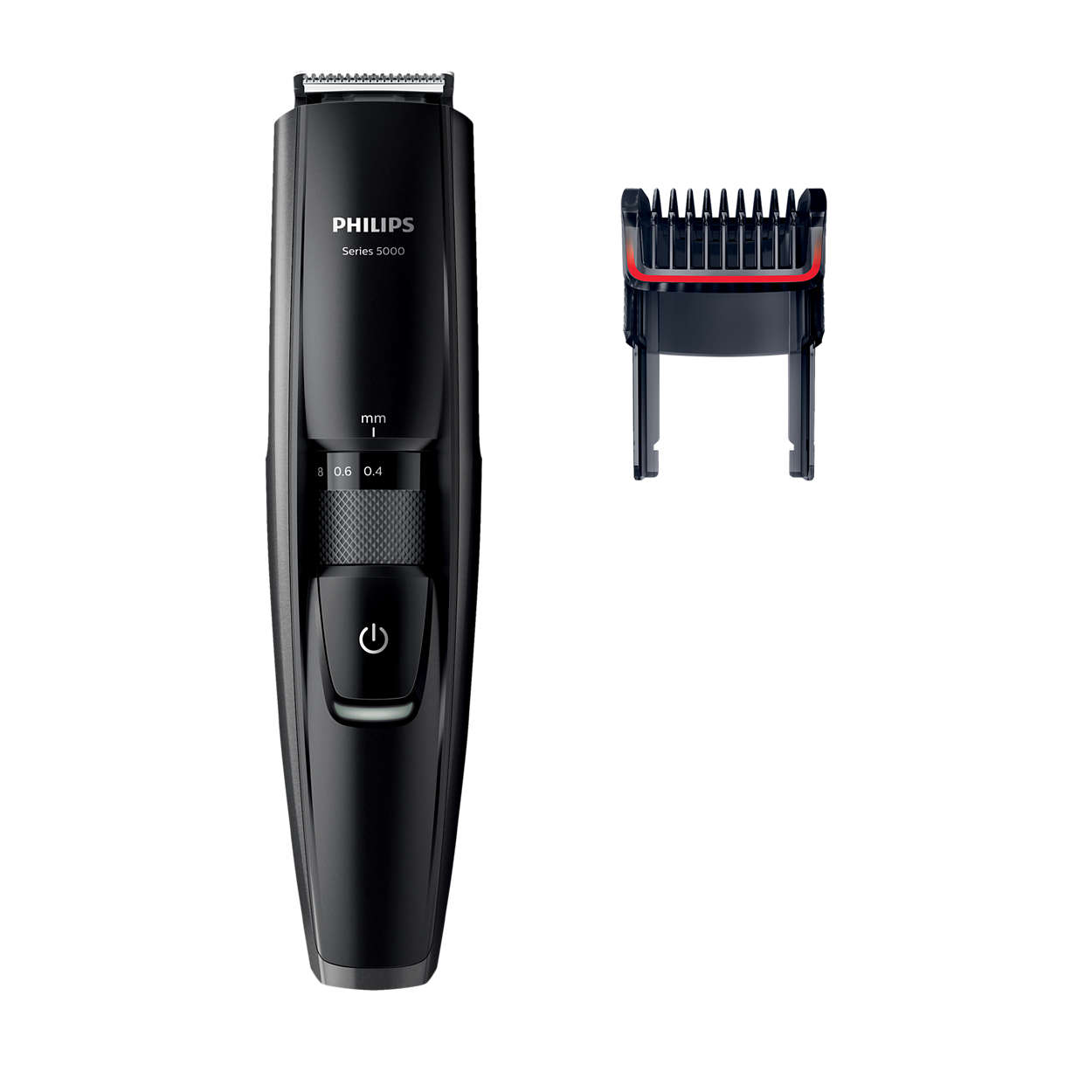 beardtrimmer series 5000 beard stubble trimmer with full metal blades bt5200 13 philips. Black Bedroom Furniture Sets. Home Design Ideas