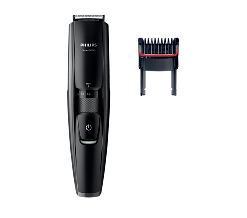 beardtrimmer series 5000 beard stubble trimmer with full metal blades bt5200 13 philips. Black Bedroom Furniture Sets. Home Design Ideas