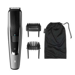 Beardtrimmer series 5000 Skægtrimmer med trimmekam til langt skæg