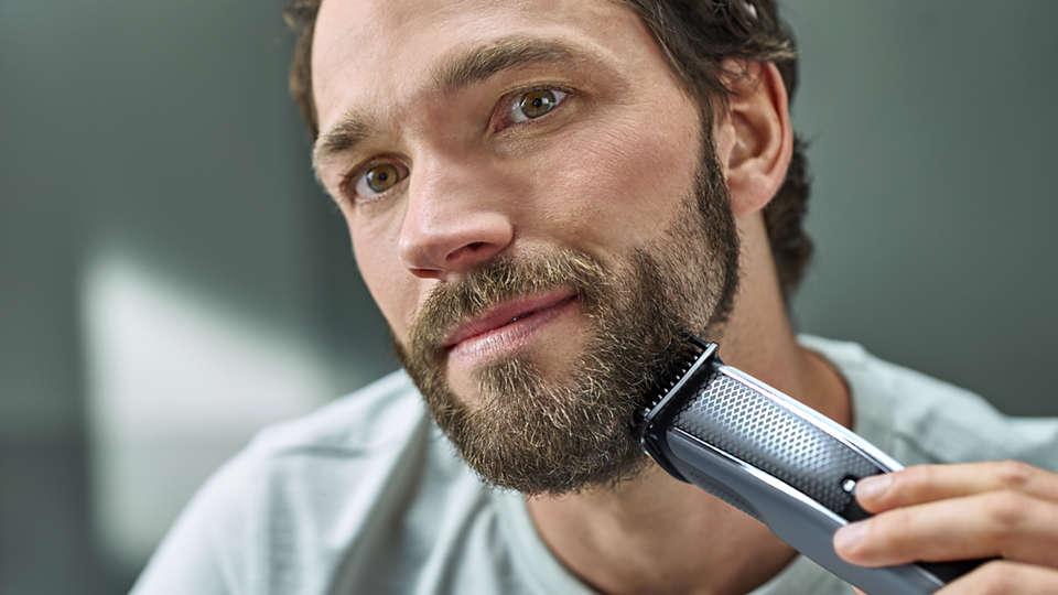 Rasieren bart drei tage konturen Bart Konturen