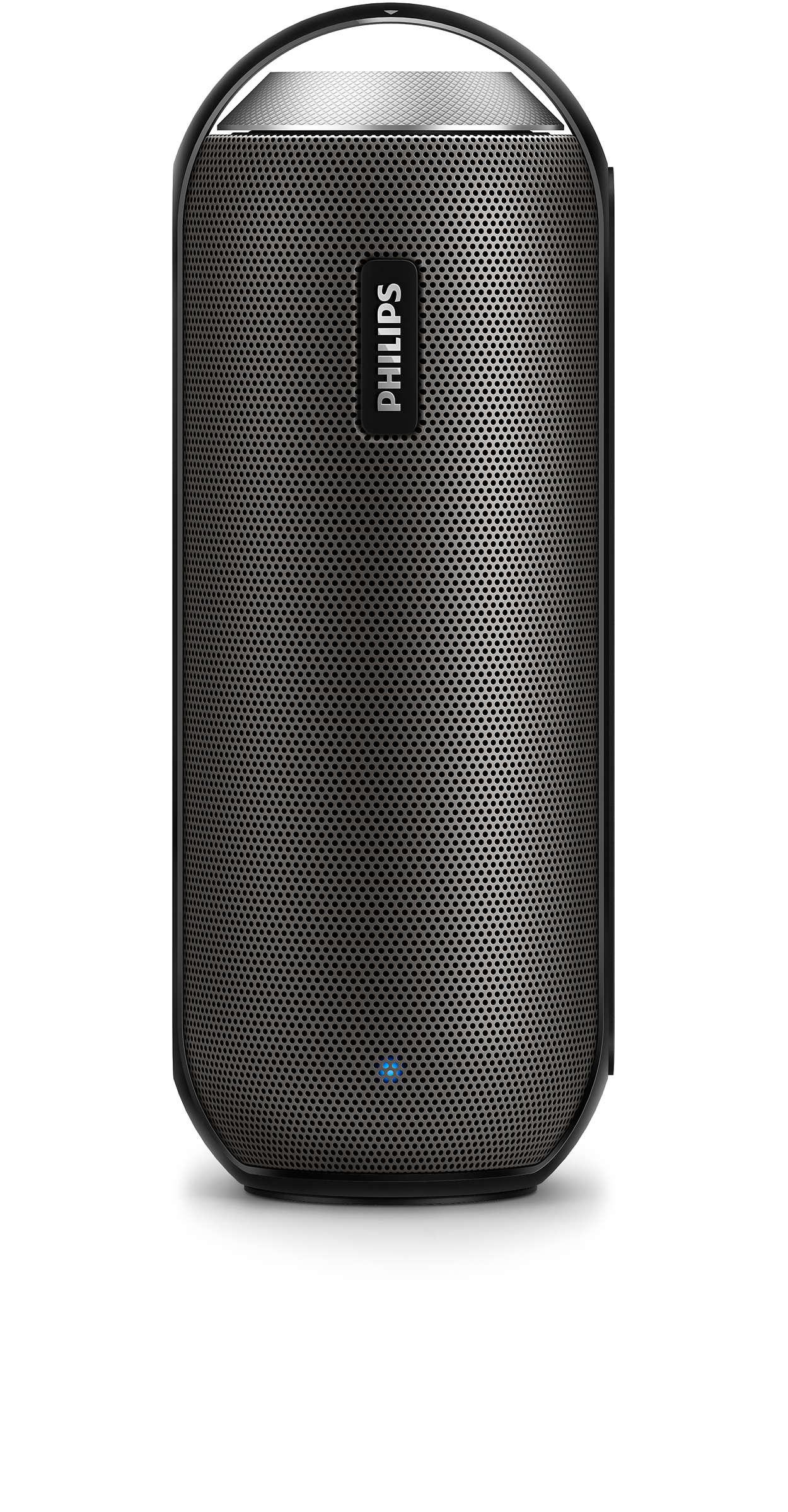 Tragbarer Kabelloser Lautsprecher Bt6000b 12 Philips