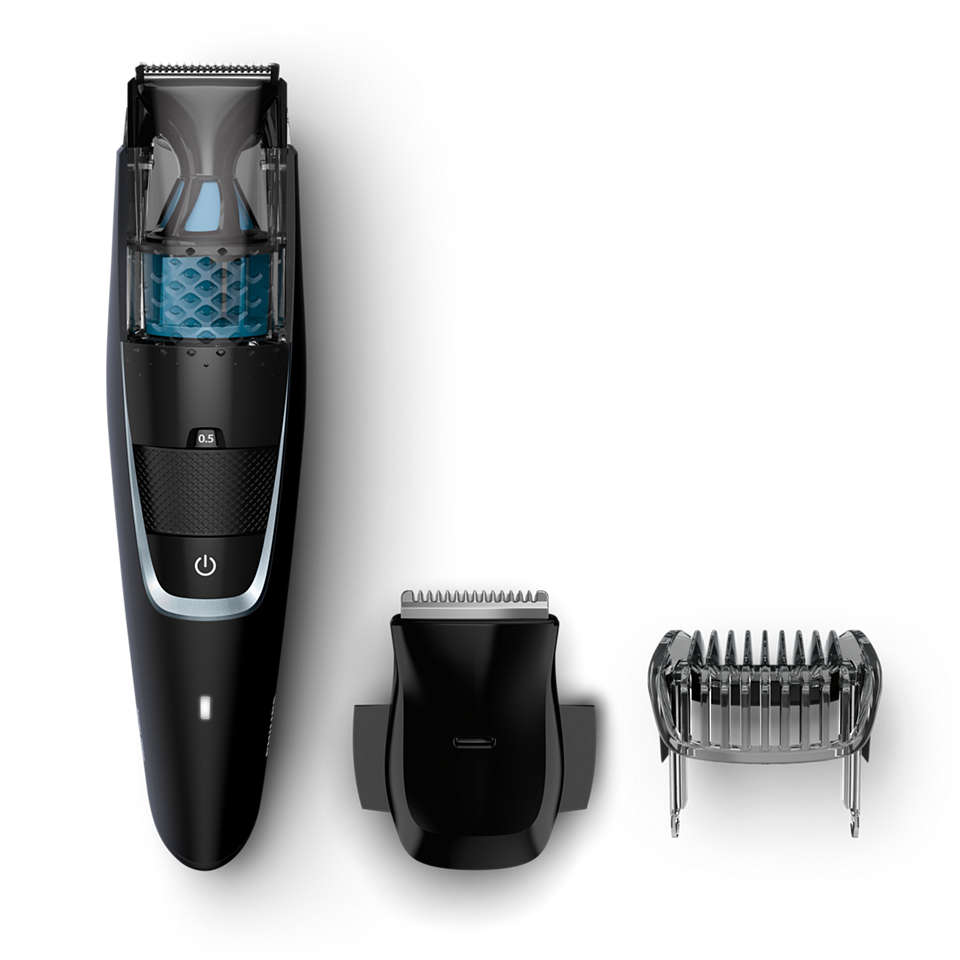 Less mess vacuum trimmer