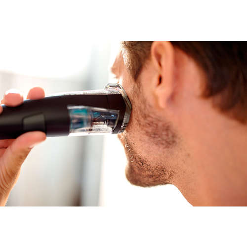 Beardtrimmer series 7000 Vacuum beard & stubble trimmer