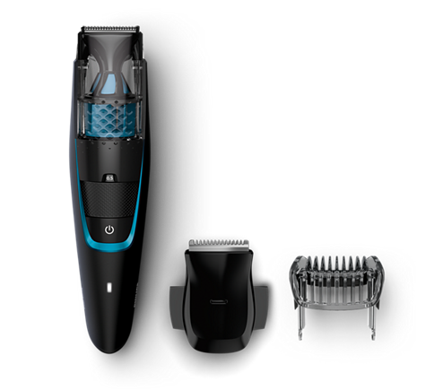 beardtrimmer series 7000 tondeuse barbe avec syst me d 39 aspiration bt7202 16 philips. Black Bedroom Furniture Sets. Home Design Ideas