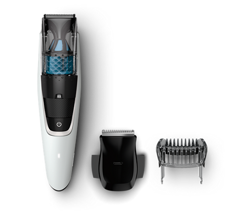 beardtrimmer series 7000 tondeuse barbe avec syst me d 39 aspiration bt7204 15 philips. Black Bedroom Furniture Sets. Home Design Ideas