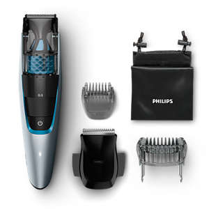 Beardtrimmer series 7000 Aparat de tuns barba cu aspirator