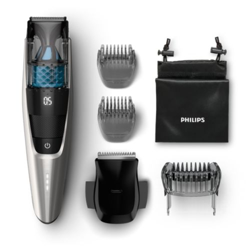Beardtrimmer Series 7000 Vacuum Beard Trimmer Bt7220 15 Philips