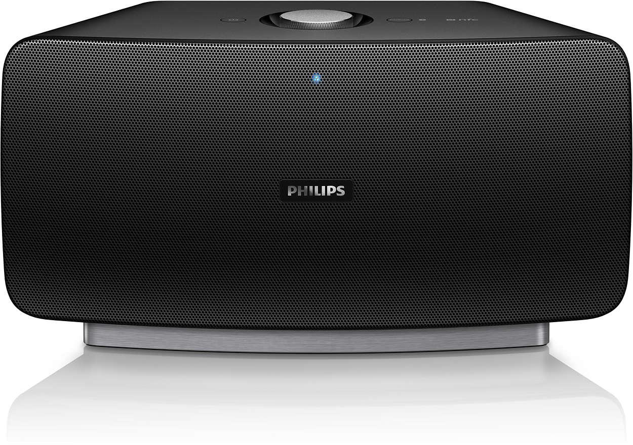 Transmissão de som de alta qualidade sem cedências