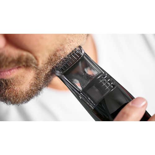 Beardtrimmer series 7000 Skäggtrimmer med vakuum-system