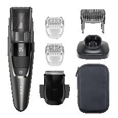 BT7520/15 Beardtrimmer series 7000 מעצב זקן עם מערכת לשאיבת שאריות זיפים