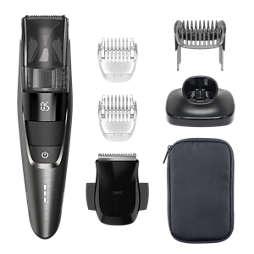 Beardtrimmer series 7000 Prirezovalnik brade s sesalnim sistemom