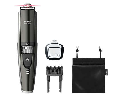 Der weltweit erste Bartschneider mit Laser